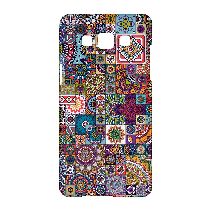 Ornamental Mosaic Background Samsung Galaxy A5 Hardshell Case