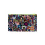 Ornamental Mosaic Background Cosmetic Bag (XS) Back