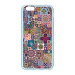 Ornamental Mosaic Background Apple Seamless iPhone 6/6S Case (Color) Front