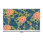 Floral Fantsy Pattern Business Card Holders Front