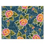 Floral Fantsy Pattern Rectangular Jigsaw Puzzl Front