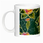 Floral Fantsy Pattern Night Luminous Mugs Left