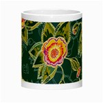 Floral Fantsy Pattern Night Luminous Mugs Center