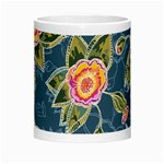 Floral Fantsy Pattern Morph Mugs Center