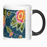 Floral Fantsy Pattern Morph Mugs Right