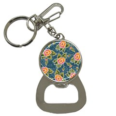 Floral Fantsy Pattern Bottle Opener Key Chains