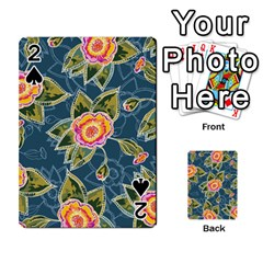 Floral Fantsy Pattern Playing Cards 54 Designs