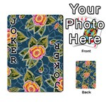 Floral Fantsy Pattern Playing Cards 54 Designs  Front - Joker1