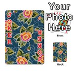 Floral Fantsy Pattern Playing Cards 54 Designs  Front - Joker2