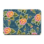 Floral Fantsy Pattern Small Doormat  24 x16 Door Mat - 1