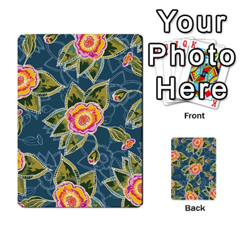 Floral Fantsy Pattern Multi-purpose Cards (Rectangle)