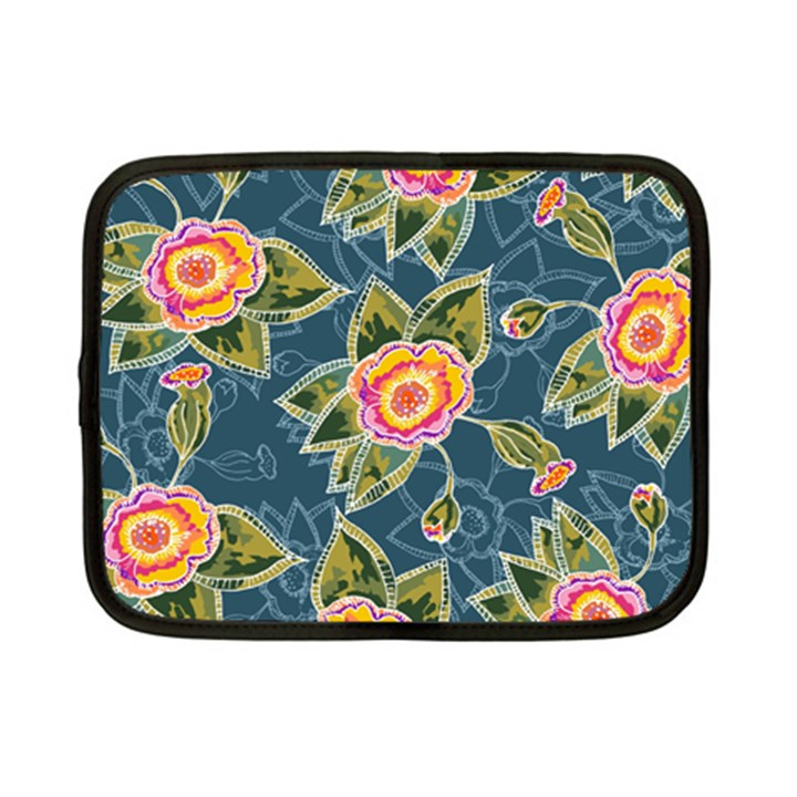 Floral Fantsy Pattern Netbook Case (Small)