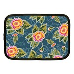 Floral Fantsy Pattern Netbook Case (Medium)  Front