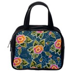 Floral Fantsy Pattern Classic Handbags (One Side) Front