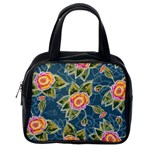 Floral Fantsy Pattern Classic Handbags (2 Sides) Back