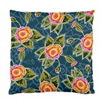 Floral Fantsy Pattern Standard Cushion Case (Two Sides) Back