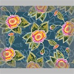 Floral Fantsy Pattern Canvas 10  x 8  10  x 8  x 0.875  Stretched Canvas