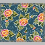 Floral Fantsy Pattern Canvas 24  x 20  24  x 20  x 0.875  Stretched Canvas