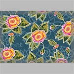 Floral Fantsy Pattern Canvas 18  x 12  18  x 12  x 0.875  Stretched Canvas