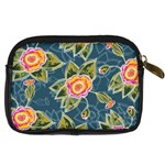 Floral Fantsy Pattern Digital Camera Cases Back