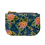 Floral Fantsy Pattern Mini Coin Purses Front
