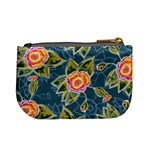 Floral Fantsy Pattern Mini Coin Purses Back
