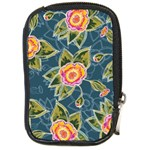 Floral Fantsy Pattern Compact Camera Cases Front