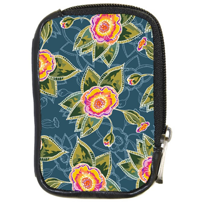 Floral Fantsy Pattern Compact Camera Cases