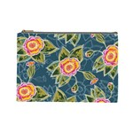 Floral Fantsy Pattern Cosmetic Bag (Large)  Front