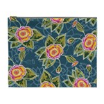 Floral Fantsy Pattern Cosmetic Bag (XL) Front