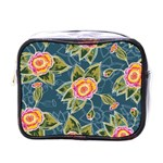 Floral Fantsy Pattern Mini Toiletries Bags Front