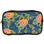 Floral Fantsy Pattern Toiletries Bags 2-Side Back