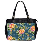 Floral Fantsy Pattern Office Handbags (2 Sides)  Front