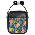 Floral Fantsy Pattern Girls Sling Bags Front