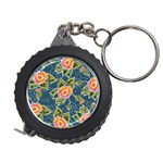 Floral Fantsy Pattern Measuring Tapes Front