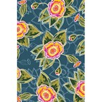 Floral Fantsy Pattern 5.5  x 8.5  Notebooks Back Cover Inside