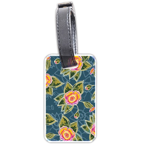 Floral Fantsy Pattern Luggage Tags (Two Sides)
