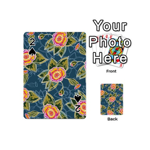 Floral Fantsy Pattern Playing Cards 54 (Mini)