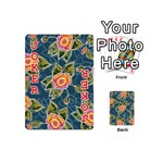 Floral Fantsy Pattern Playing Cards 54 (Mini)  Front - Joker2