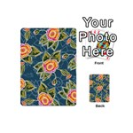 Floral Fantsy Pattern Playing Cards 54 (Mini)  Back