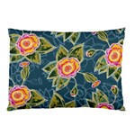 Floral Fantsy Pattern Pillow Case (Two Sides) Back