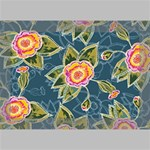 Floral Fantsy Pattern Deluxe Canvas 18  x 12   18  x 12  x 1.5  Stretched Canvas
