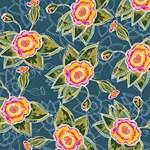 Floral Fantsy Pattern BEST BRO 3D Greeting Card (8x4) Inside