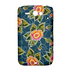 Floral Fantsy Pattern HTC ChaCha / HTC Status Hardshell Case