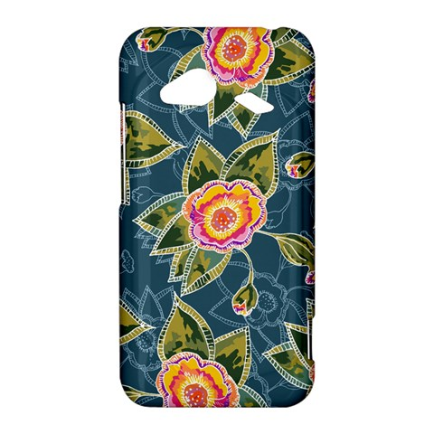 Floral Fantsy Pattern HTC Droid Incredible 4G LTE Hardshell Case