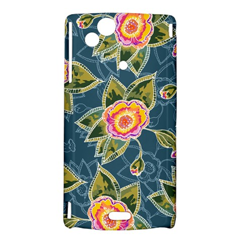Floral Fantsy Pattern Sony Xperia Arc