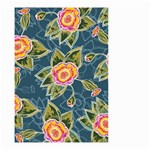 Floral Fantsy Pattern Small Garden Flag (Two Sides) Front