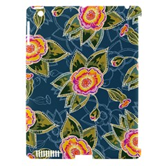 Floral Fantsy Pattern Apple iPad 3/4 Hardshell Case (Compatible with Smart Cover)
