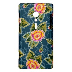 Floral Fantsy Pattern Sony Xperia ion