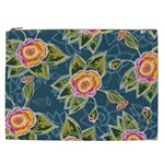 Floral Fantsy Pattern Cosmetic Bag (XXL)  Front